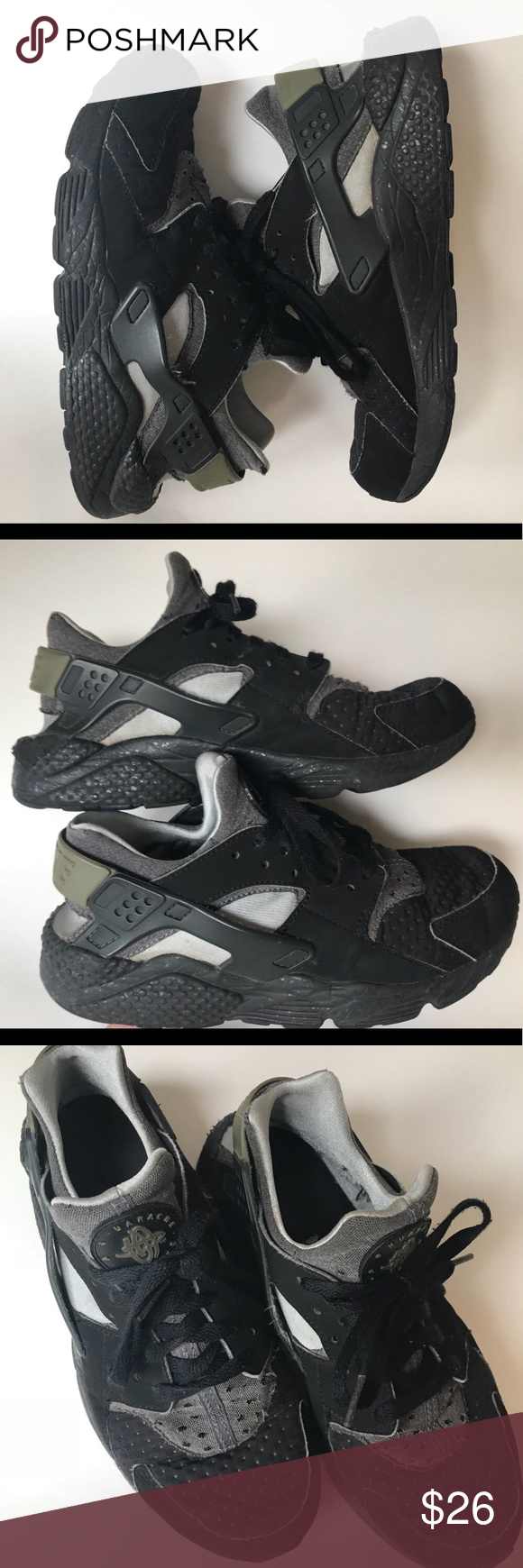 Nike Air Huaraches Men's Size 8 The most comfortable shoes