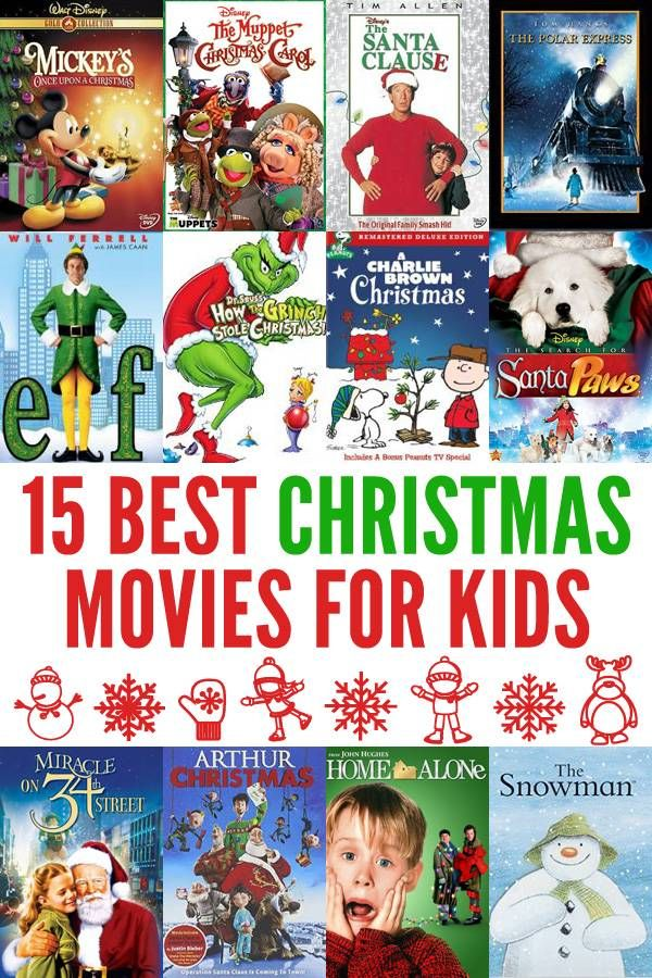 15 Best Family Christmas Movies Kids Christmas Movies Best