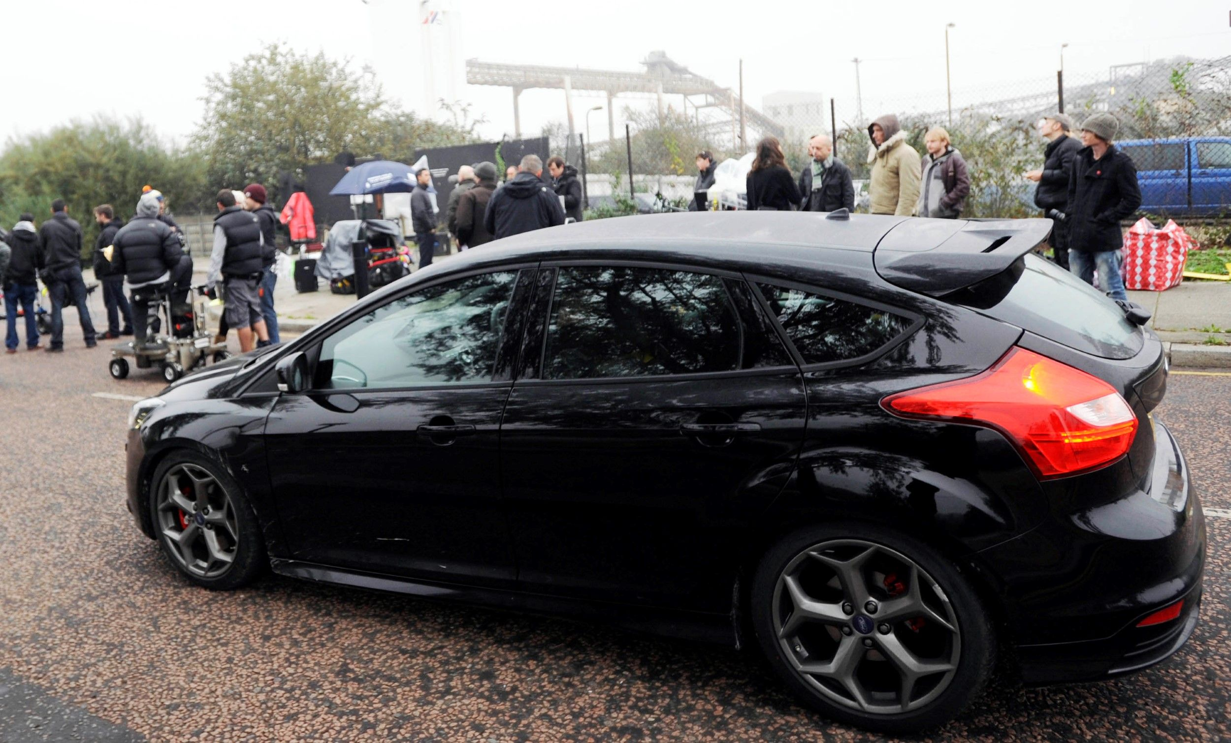 Movie The Sweeney 2012 Pre Production Ford Focus St