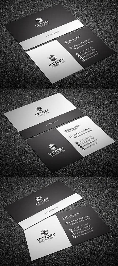 Freebie: Corporate Business Card (Print Ready) | Card, Brochure ...