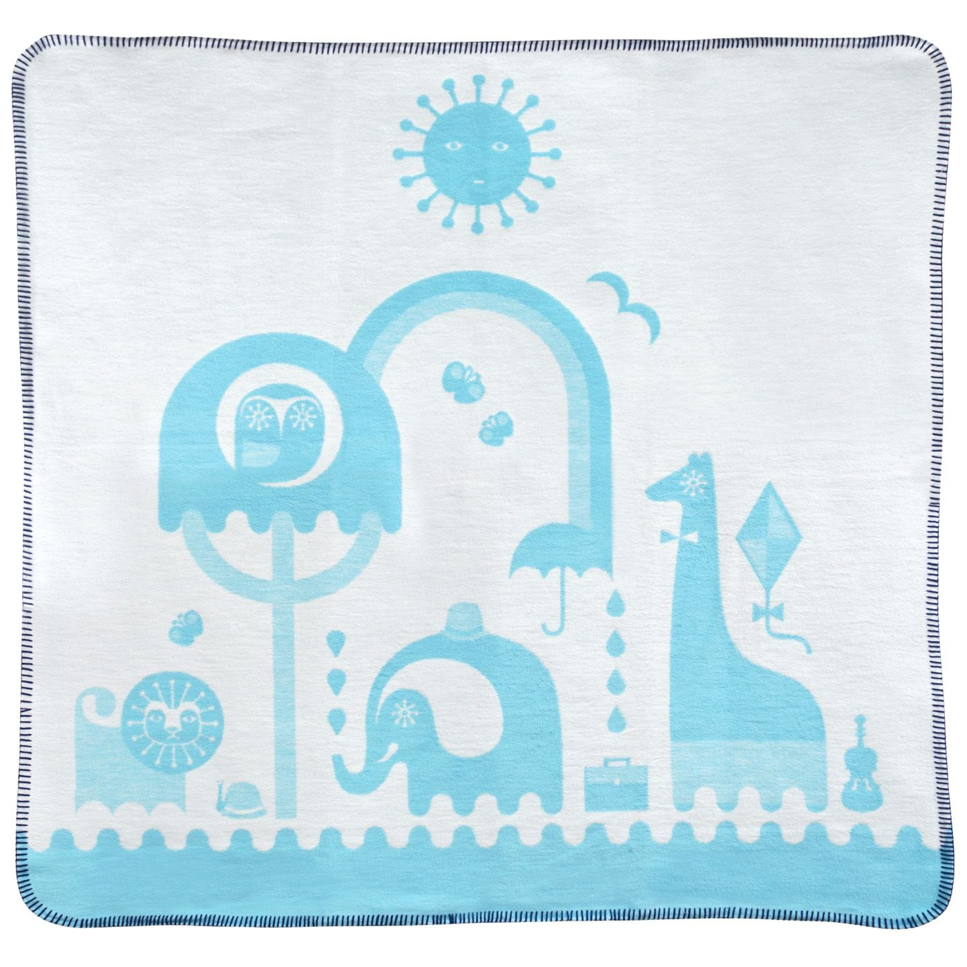 Gifts By Recipient: Gifts By Recipient - Blue Junior Animal Blanket