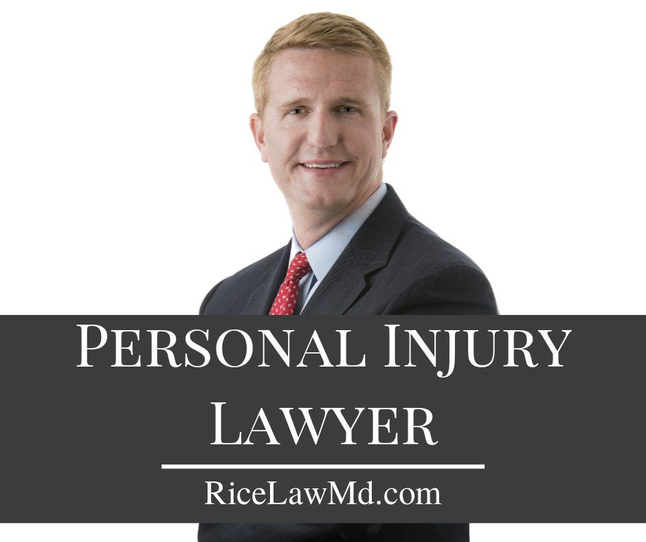 Baltimore Personal Injury Lawyer Rice Law Firm With Images