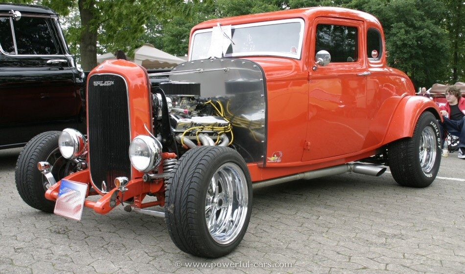 1932 Chevy Coupe Hot Rod | Ford Model B18