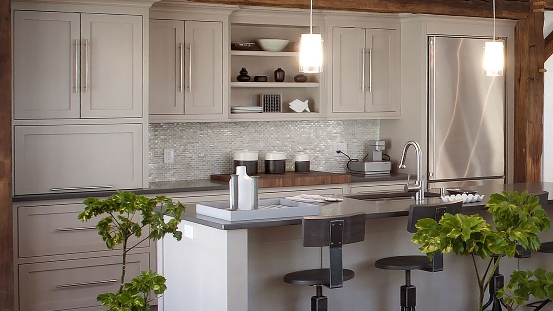2015 Kitchens  Glass Tile Backsplash Latest Design Kitchen Adorable Design Kitchens Online 2018