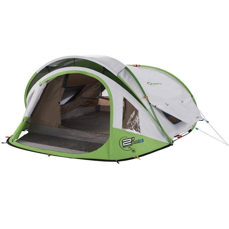 Tente 2 Seconds Xl Fresh Illumin 3 3 Personnes Pop Up Tente Decathlon Tentes