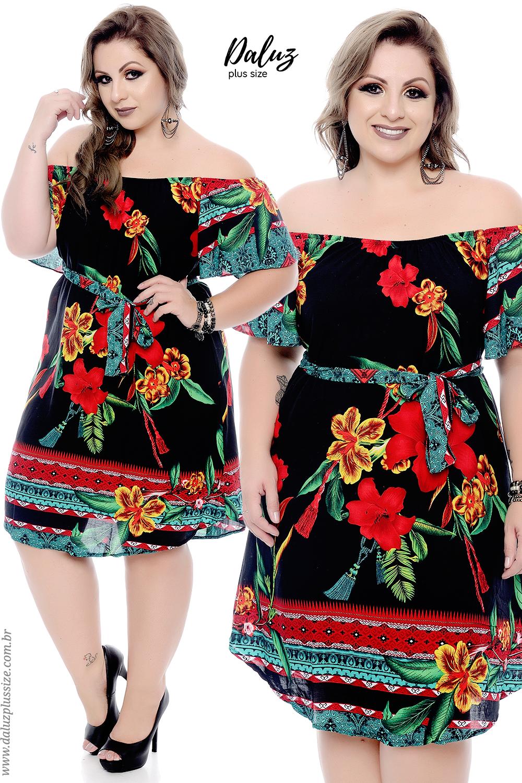 878925c3f Vestido Plus Size - Lançamentos 2018 - www.daluzplussize.com.br ...
