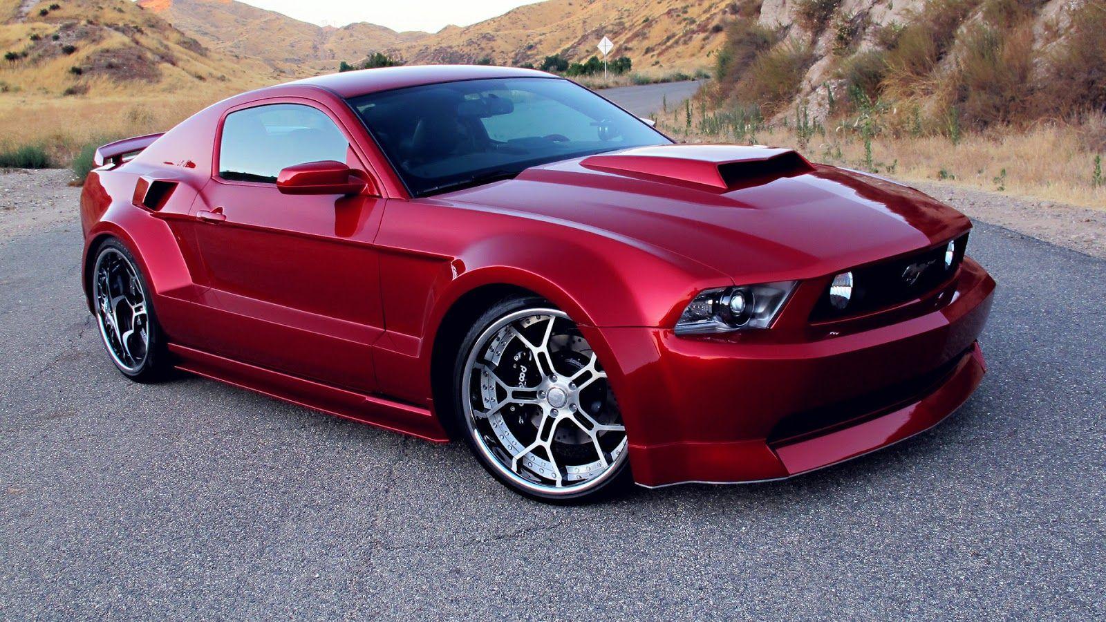 Ford Mustang Gt Rojo