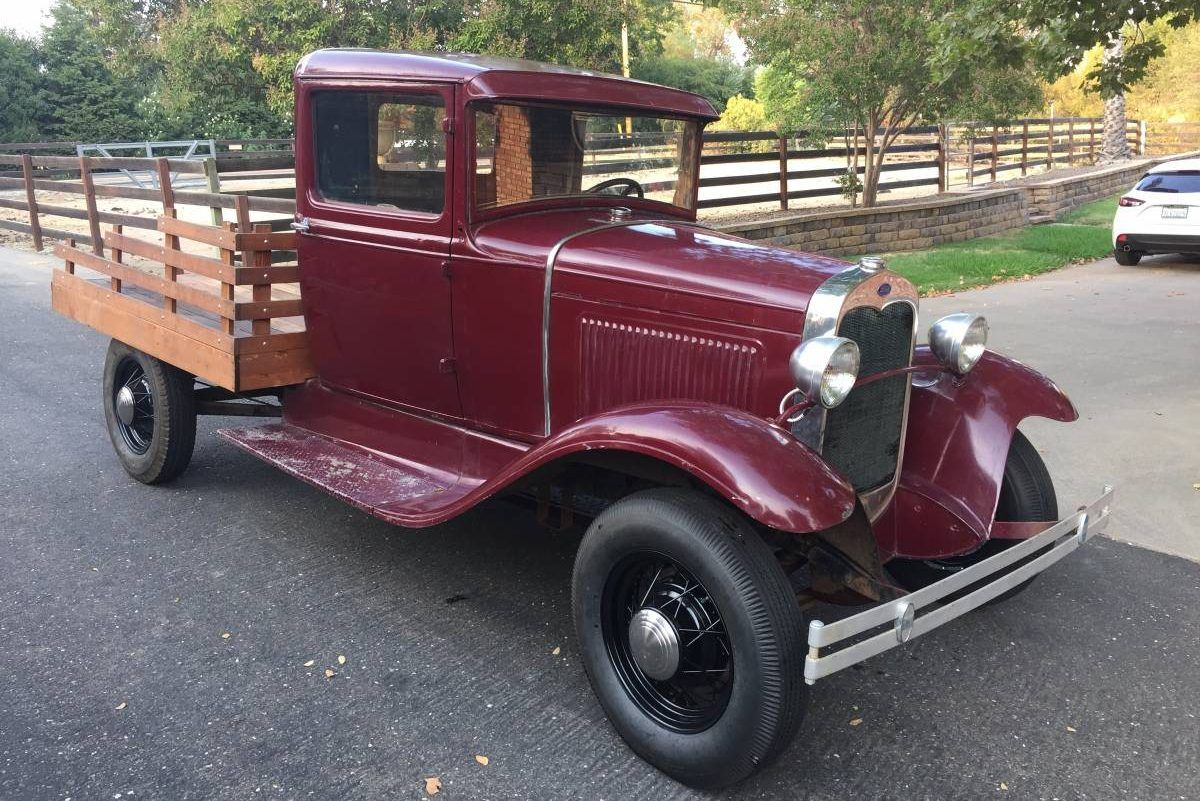 Nice Old Truck 1931 Ford Stake Bed Classic chevy trucks