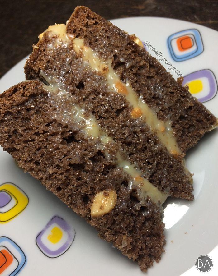 Bolo Gelado De Chocolate Com Recheio De Amendoim Bolo Gelado De