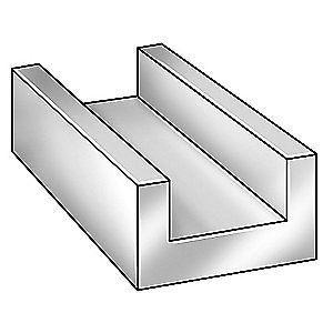Grainger Approved Aluminum U Channel Al 6063 0 062 Th 1 2 In X 8 Ft 6alz2 Graingerapproved U Shape Girl S Room Aluminum