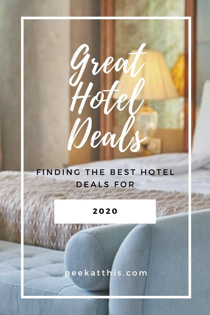 Money is tough to come by for many of us, and finding a great hotel deal on Travel is hard to come by. Read more here to find ways to find great hotel deals for 2020. How To Find Great Hotel Deals For 2020 | Peek At This # cheaphotelrates #hotelbookingsites #greathotelrates #findthebesthotelprice #findinggreathoteldeals