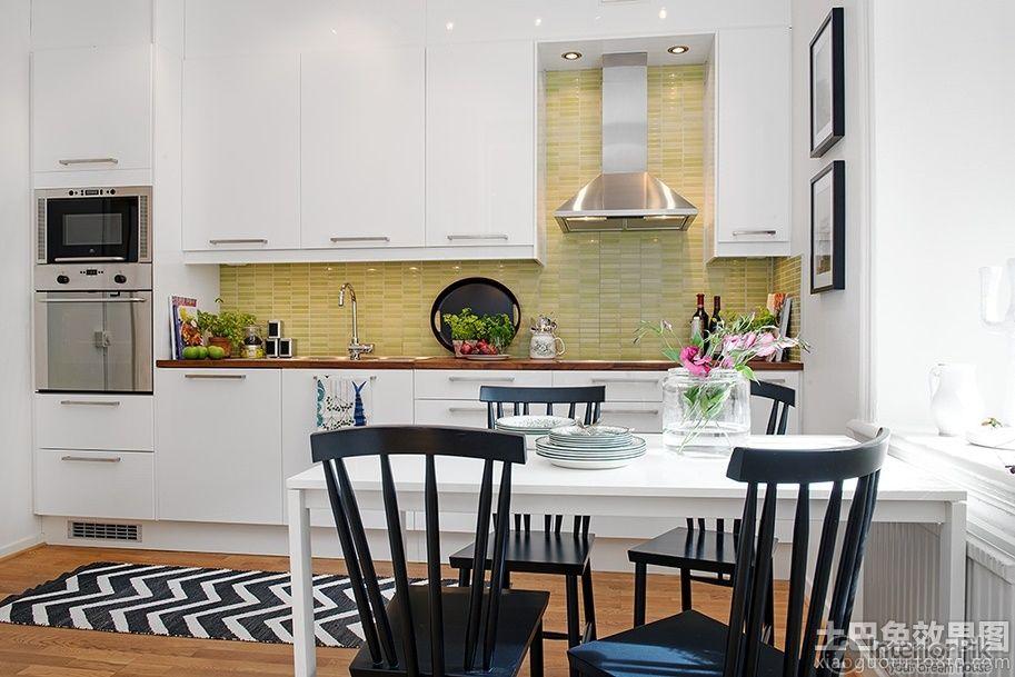 Offene Küche Restaurant Design Küche hat vollständig mit Möbeln ...