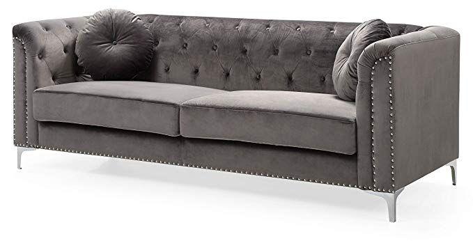 Best Amazon Com Glory Furniture Pompano G782A S Sofa Dark 640 x 480