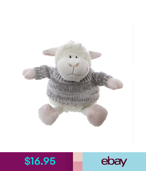 Stuffed Animals Lamb Sheep Baby Safe Soft Plush Toy With