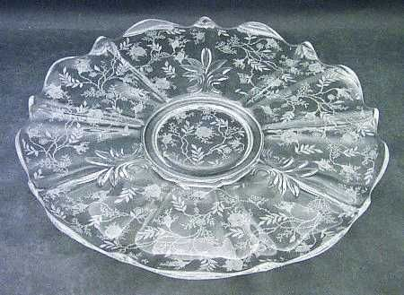 I collect depression glass in the Fostoria Chintz etched ...
