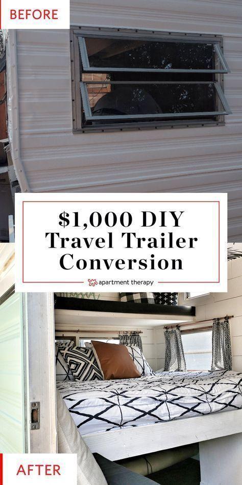 Photo of Diese billige und preiswerte 1000 DIY Travel Trailer Conversion ist alles DIY! Bedenken Sie …