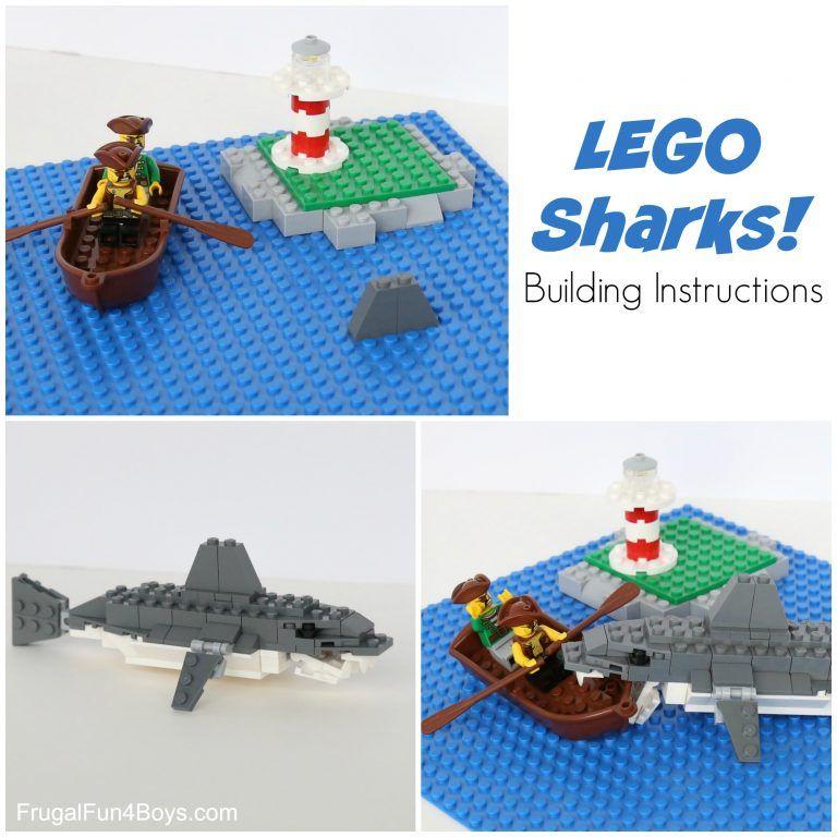How To Build An Awesome Lego Shark Awesome Lego Shark And Lego