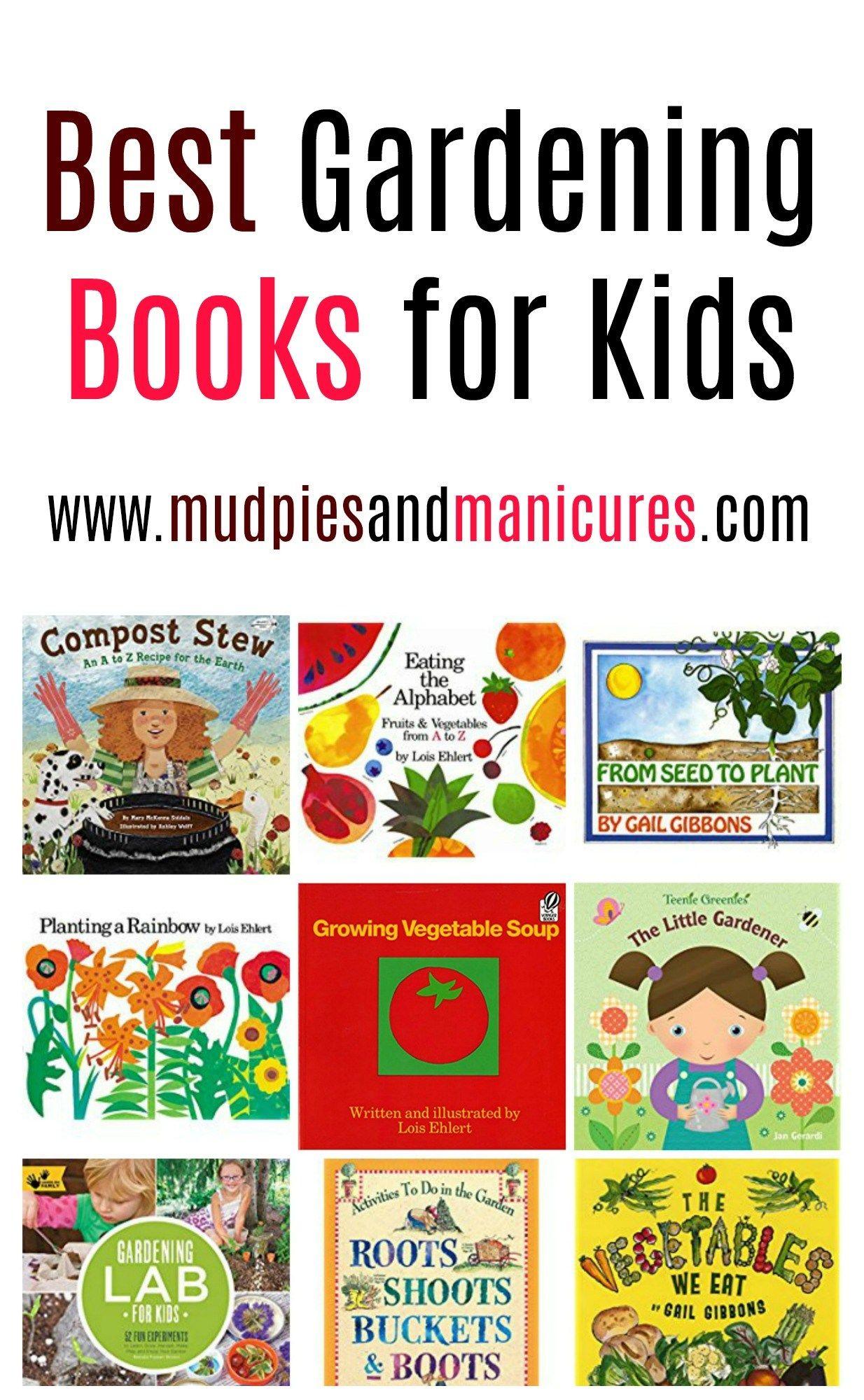 Best books for gardening with kids gardening books