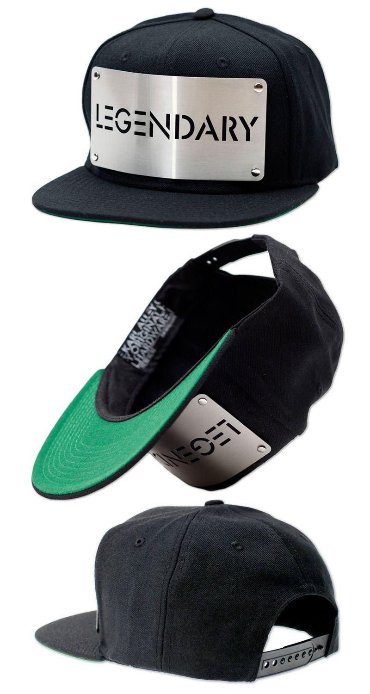 KARL ALLEY ORIGINAL HARDWARE -  LEGENDARY  SNAPBACK HAT  e15601eab6d6