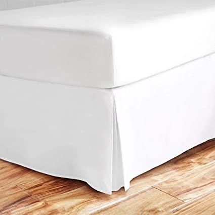 White House Queen Size Split Corner Bed Skirt