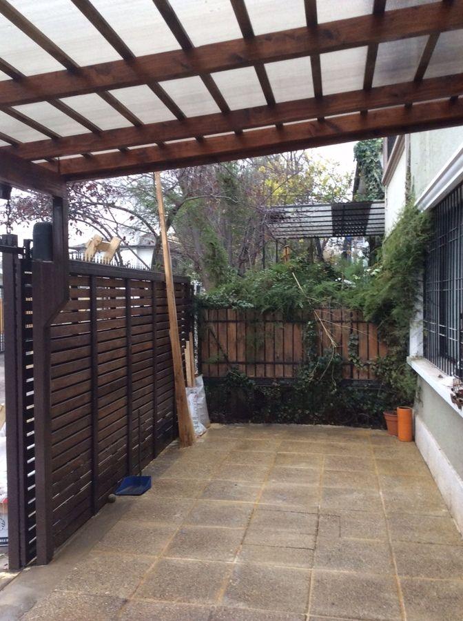 Resultado de imagen para cobertizos de fierro metal for Cobertizos para terrazas