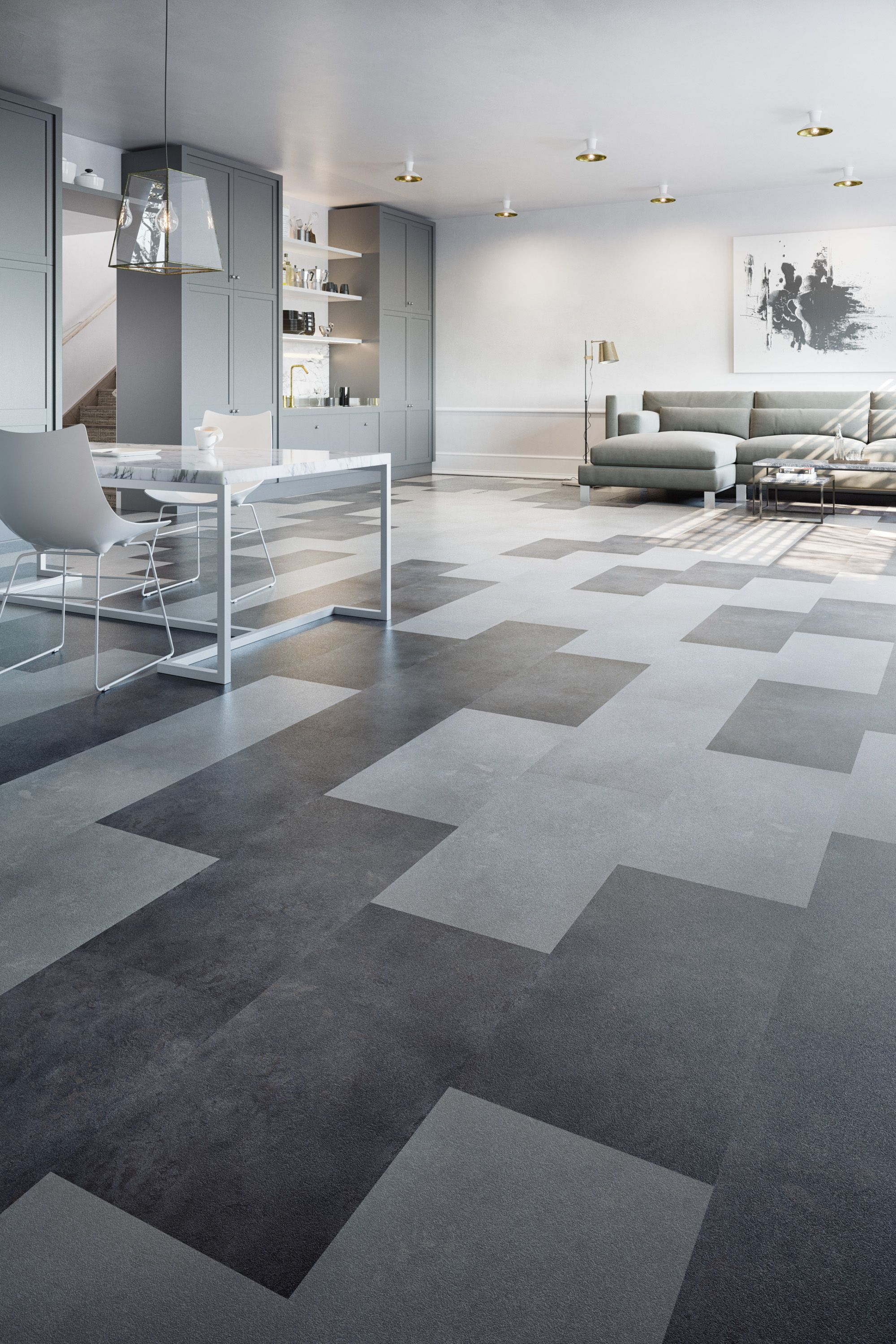 Mix Match Featuring Luxury Vinyl Plank And Tile Point Of View