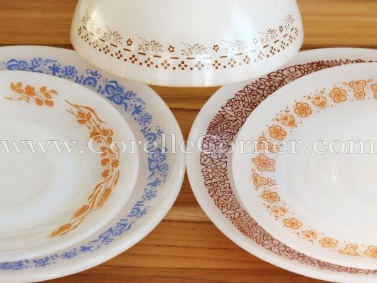 Termo-Rey glass dinnerware fake Corelle patterns & Termo-Rey glass dinnerware fake Corelle patterns | Pyrex Dishes ...