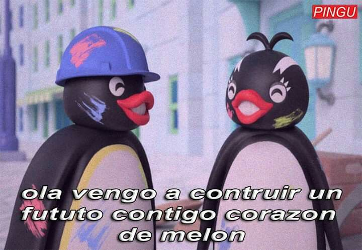 Pin De Hikani En Pingu Ewe Frases De Pinguinos Memes Amor