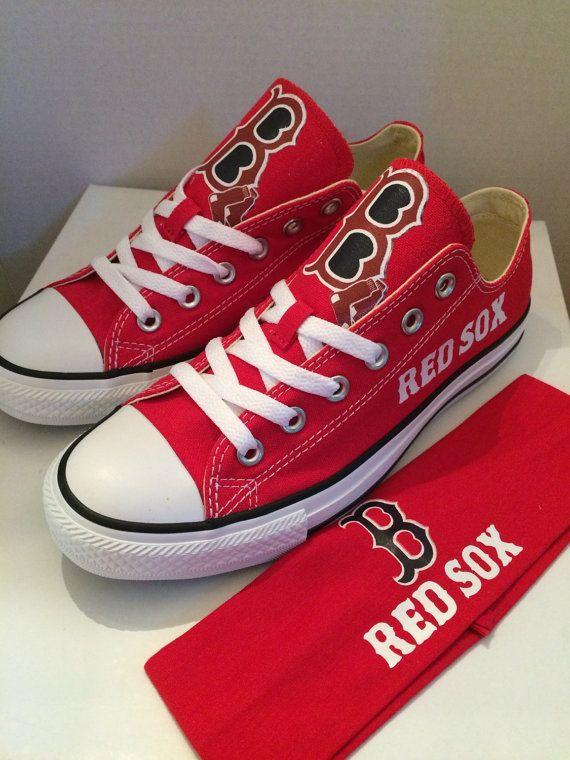 Boston red sox custom made chuck
