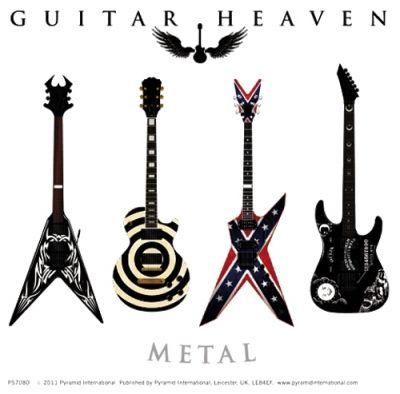 "Sticker DIVERS ""Guitar Heaven"" - Dans l'Ordre : La BC RICH ... Zakk Wylde Dean Guitars"