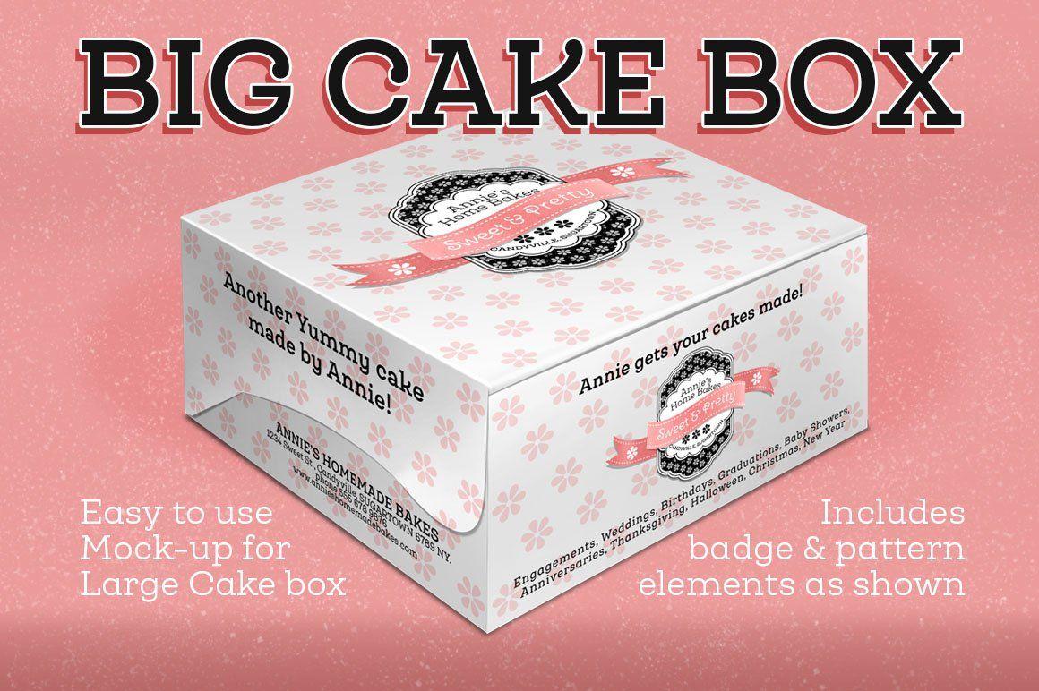 Download Cake Box Large Size Box Mockup Free Psd Mockups Templates Mockup Free Psd