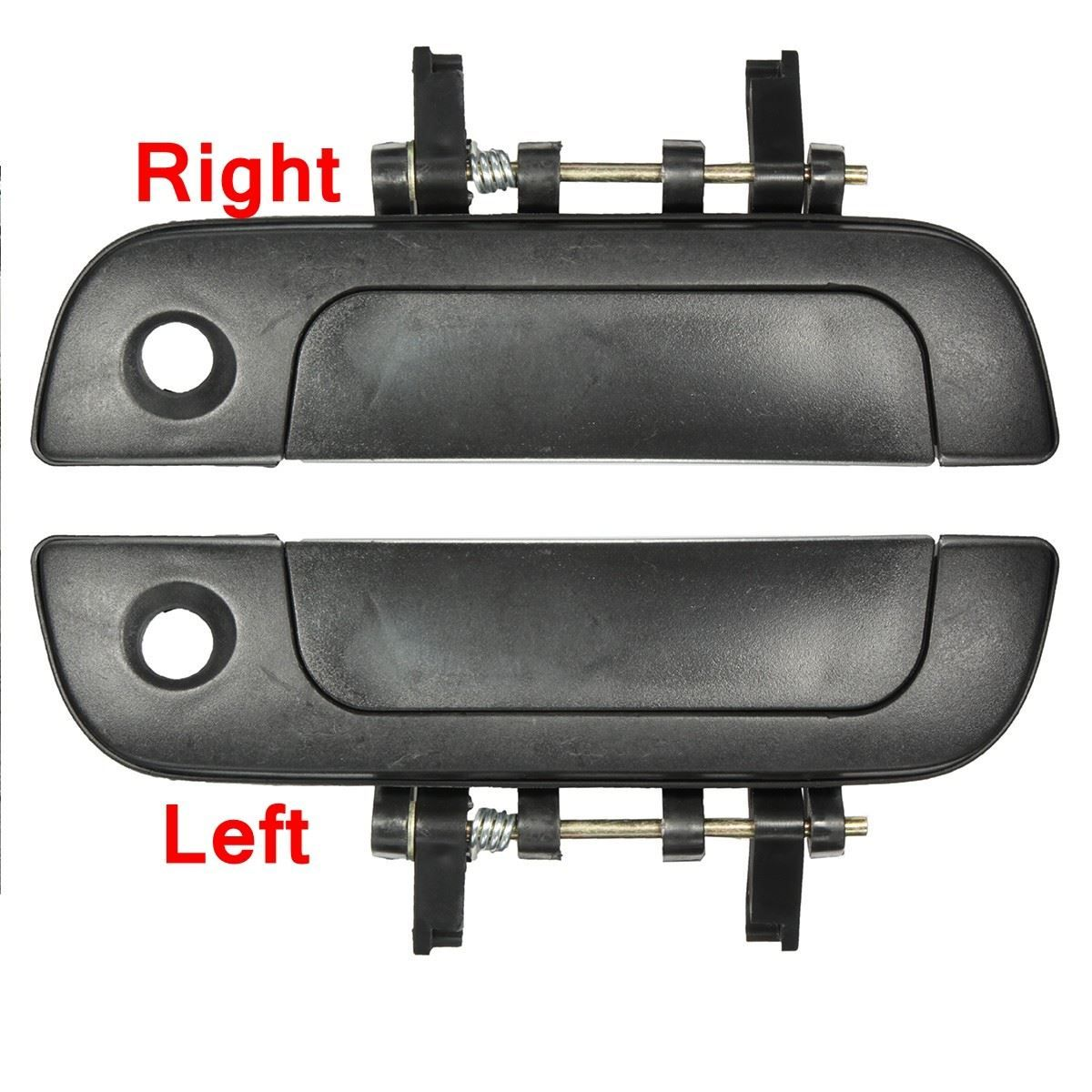 A pair front right left outside exterior door handle for suzuki baleno 1995