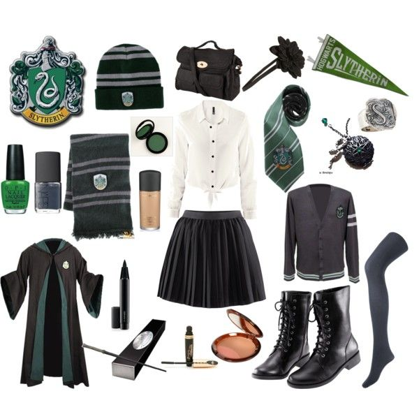 Designer Clothes Shoes Bags For Women Ssense Harry Potter Outfits Slytherin Fashion Slytherin Costume