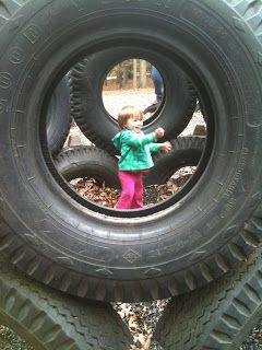 A Childhood List: 42) Tire Park Playground (Patapsco Valley State Park)
