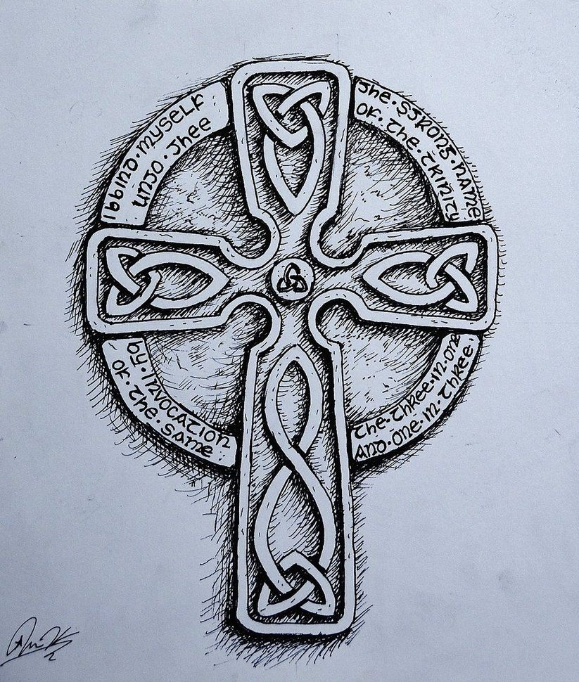 Celtic Cross Tattoo Design By Jkoznarek