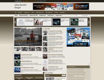 Johny Kenthir Banget Blogger Templete | Download Free