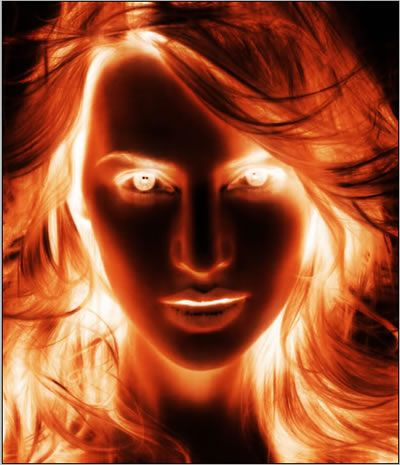 Thermal Photo Effect - Photoshop