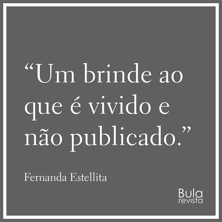 Populares Brinde-Frase-Um brinde ao que é vivido e não-Fernanda Estellita  HD39