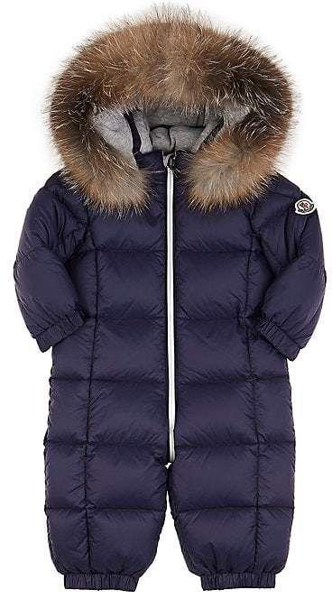 d49be3a85 Moncler Infants  Fur-Trimmed Down-Quilted Snowsuit