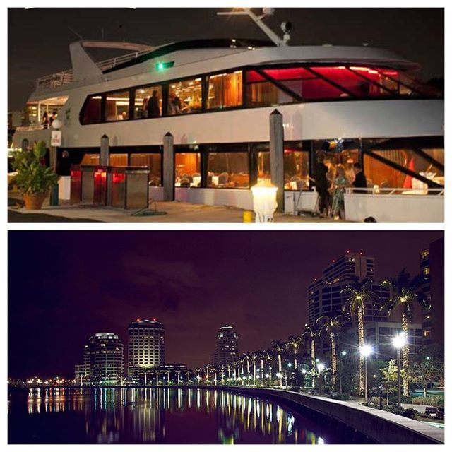 Leisurely yacht with onboard eatery Tides 41 traverses the Intracoastal Waterway as narration highlights estates and historical landmarks