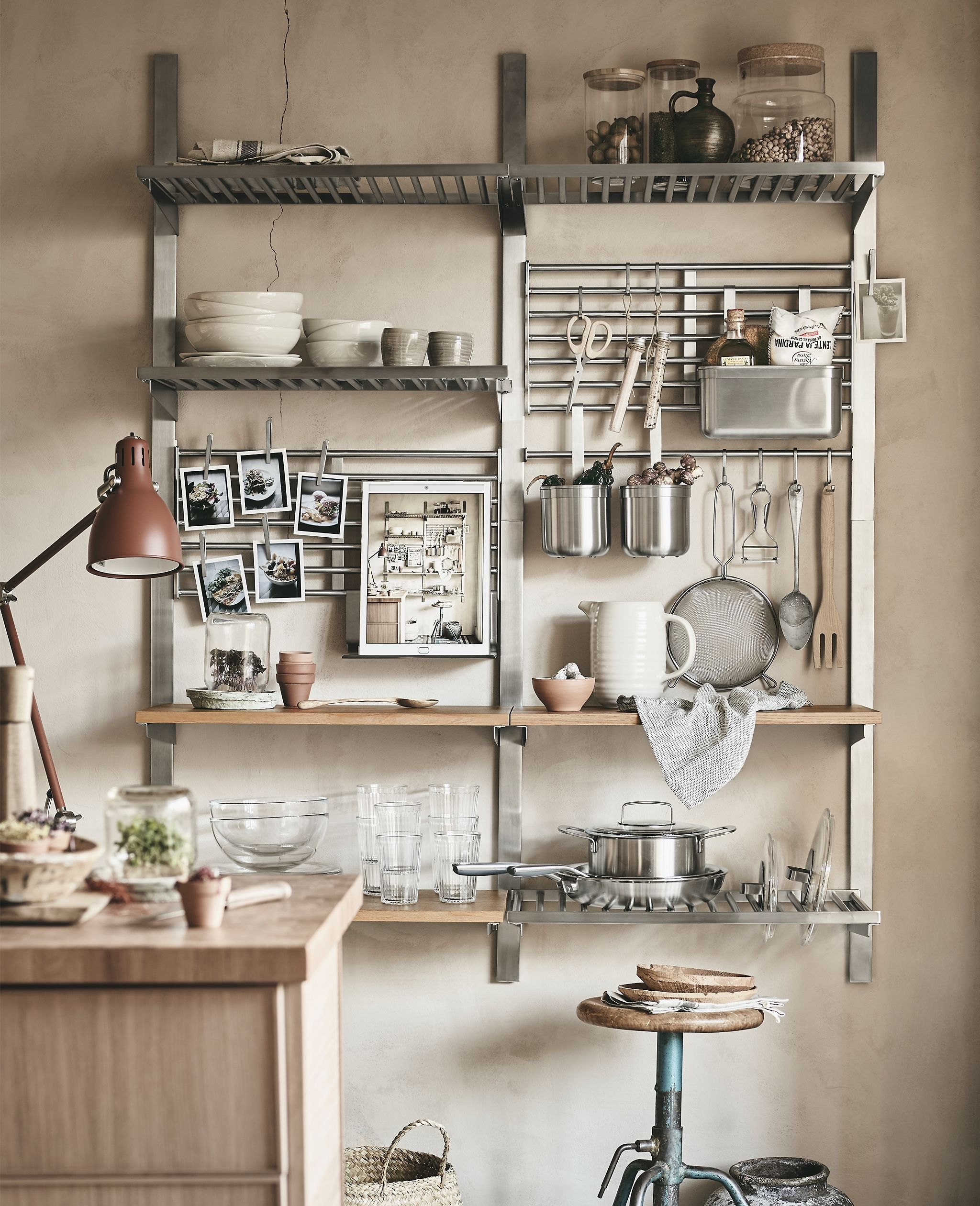 Introducing kungsfors a new kitchen storage system ikea storage in 2019 ikea kitchen - Ikea rangement cuisine ...