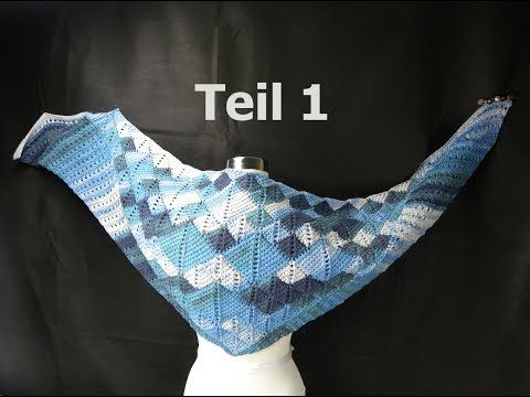 Tuch Two In Tuch Teil 1 Entrelac Veronikahugcom Youtube