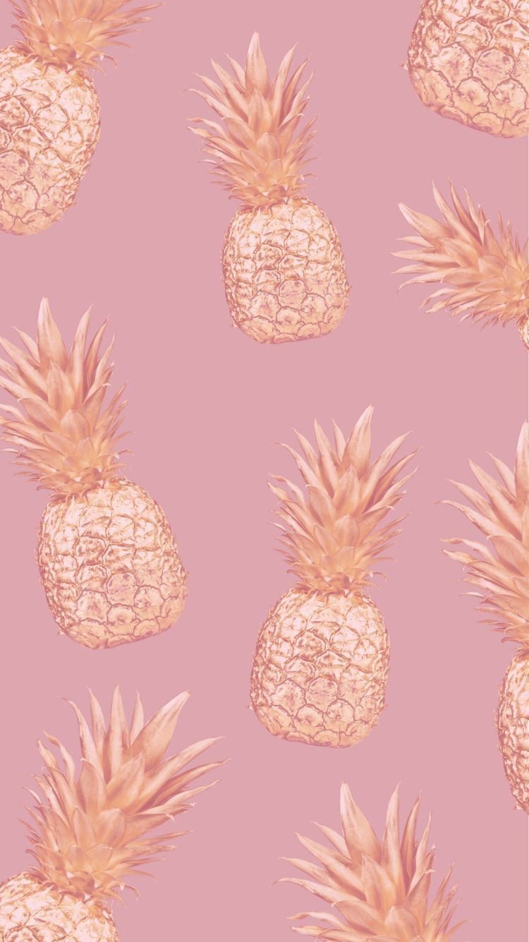 Pin By Gokce On Iphone Wallpaper Pineapple Wallpaper Rose Gold Wallpaper Cute Wallpaper Backgrounds