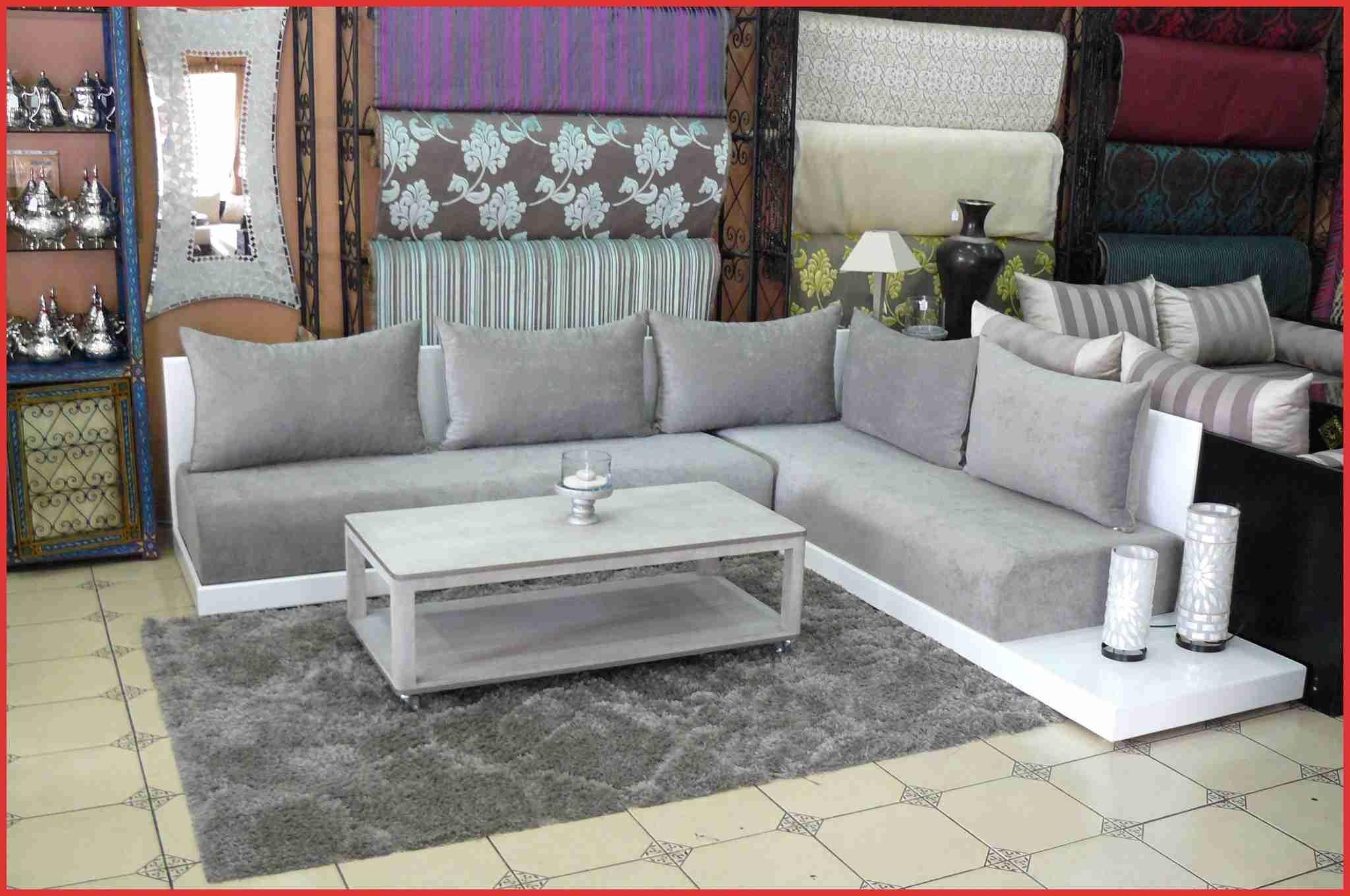 Meilleur Salon Marocain Moderne Canape 153988 Rose Argent S ...