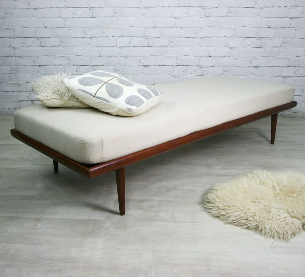FRANCE & SONS DANISH RETRO VINTAGE MID CENTURY SOFA COUCH DAYBED ...