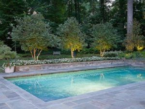 why choose natural landscaping stone products rectangle on beautiful inground pool ideas why people choose bedrock inground pool id=48559