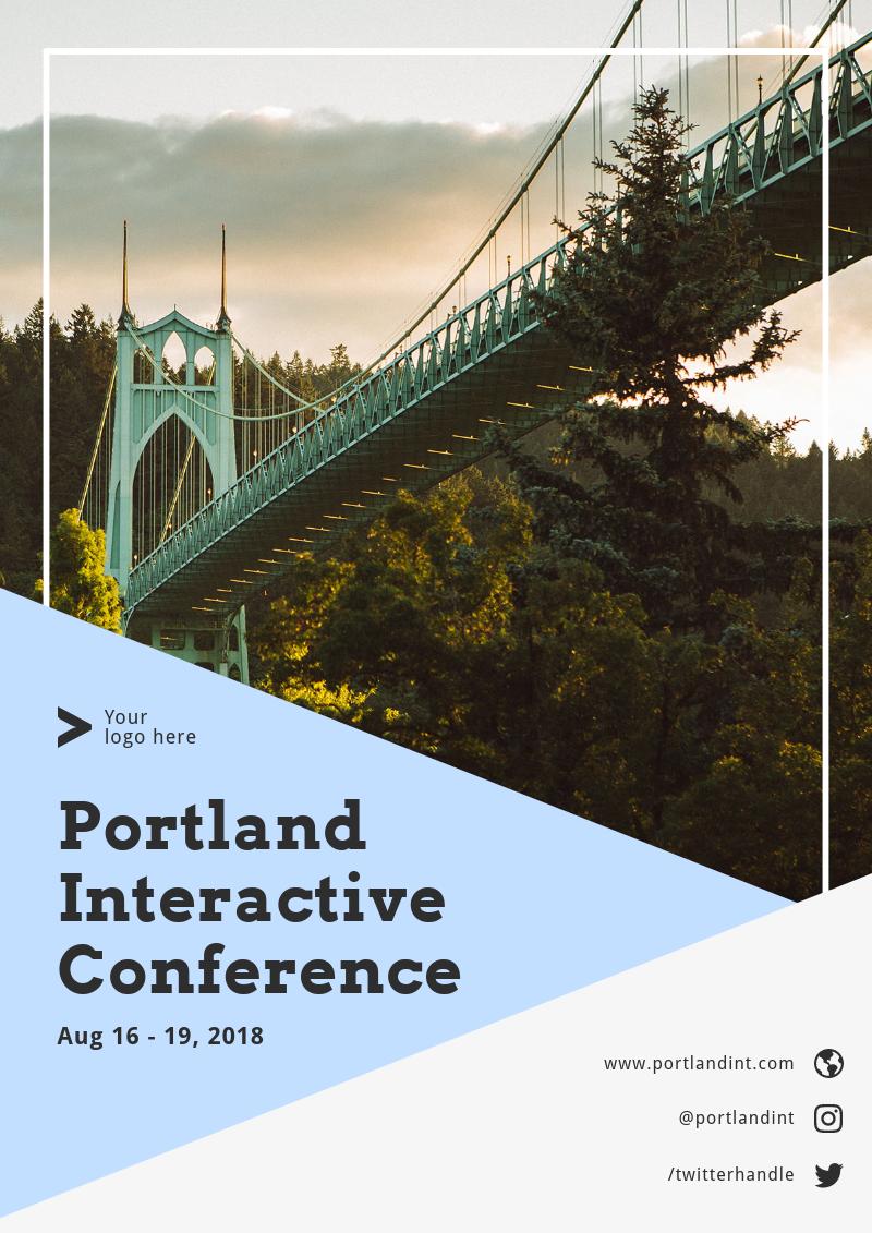 online poster maker poster design pinterest event poster
