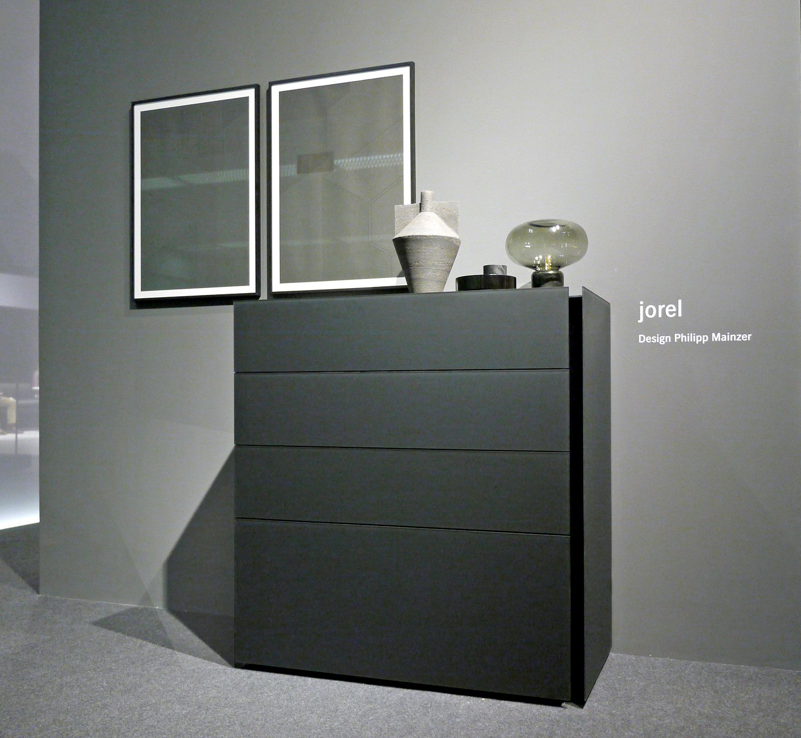 philipp mainzer for interl bke sideboard jorel clic. Black Bedroom Furniture Sets. Home Design Ideas