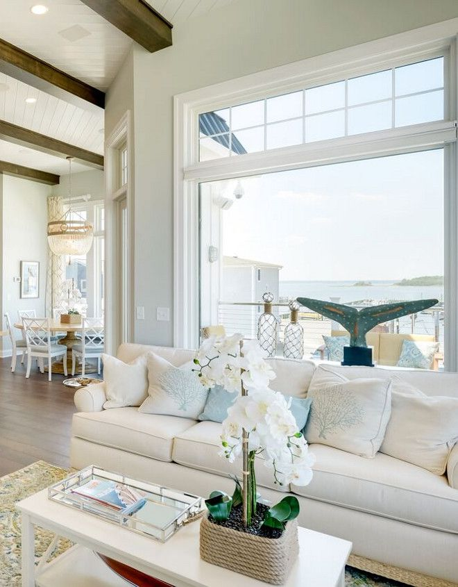 Family Vacation Beach House Wall Paint Color Is Sherwin Williams