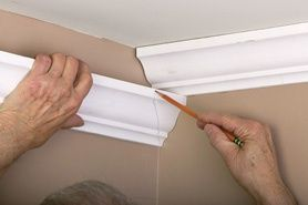 Installing Crown Moulding Good For Reference Diy Home Improvement Home Improvement Home Repairs
